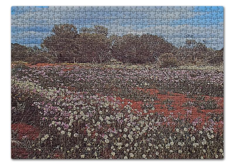 Printio Пазл 43.5×31.4 см (408 элементов) Цветочное поле.