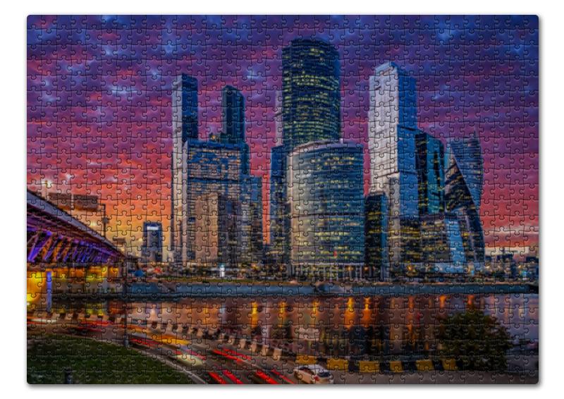 Printio Пазл 43.5×31.4 см (408 элементов) Москва-сити