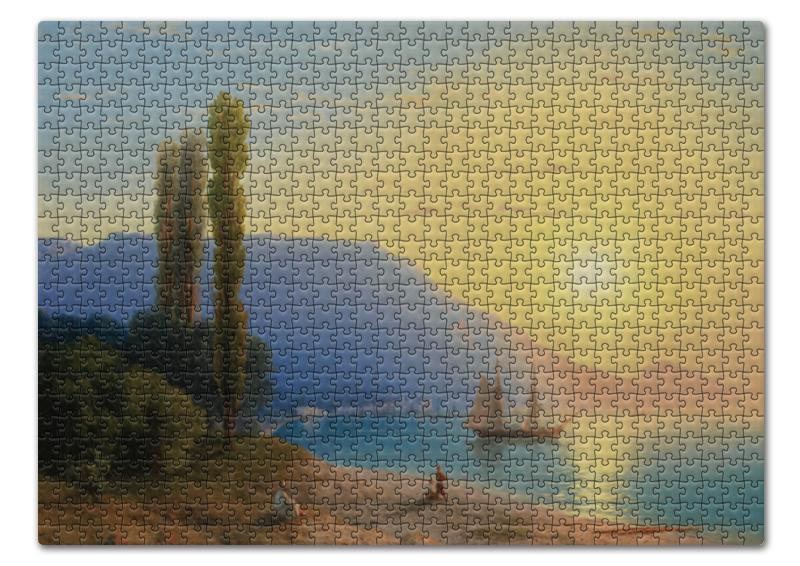 Printio Пазл 43.5×31.4 см (408 элементов) Закат в ялте (картина айвазовского)