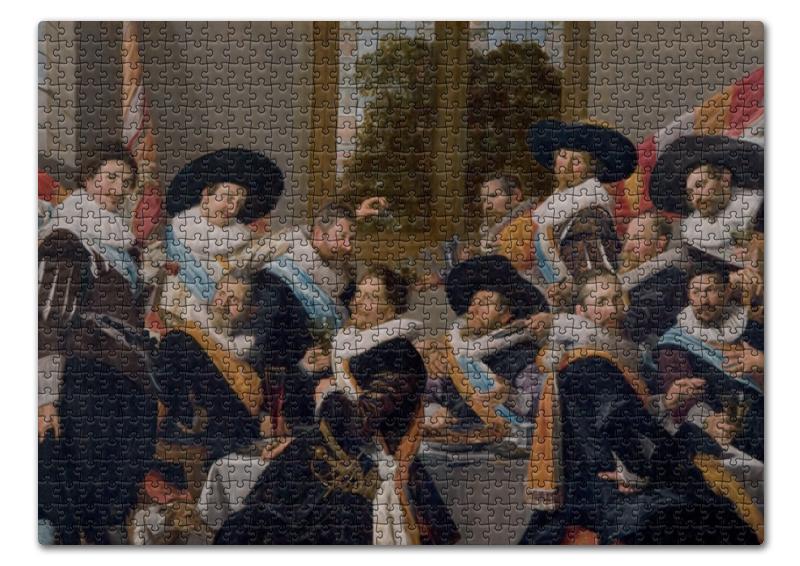 Printio Пазл 43.5×31.4 см (408 элементов) Групповой портрет стрелков роты святого адриана
