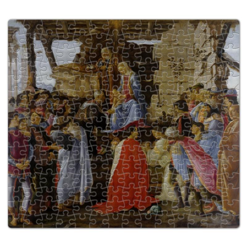 Printio Пазл магнитный 27.4×30.4 см (210 элементов) Поклонение волхвов (боттичелли)