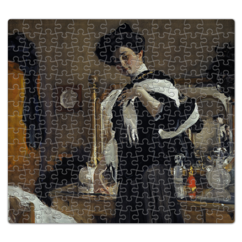Printio Пазл магнитный 27.4×30.4 см (210 элементов) Портрет г.л.гиршман (валентин серов)