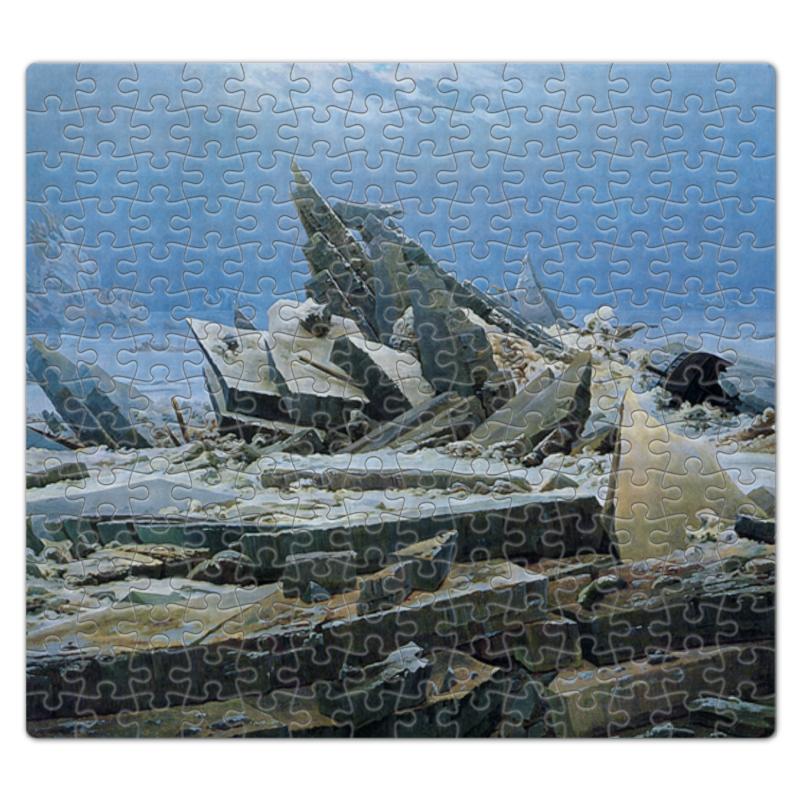 Printio Пазл магнитный 27.4×30.4 см (210 элементов) Северный ледовитый океан (фридрих)