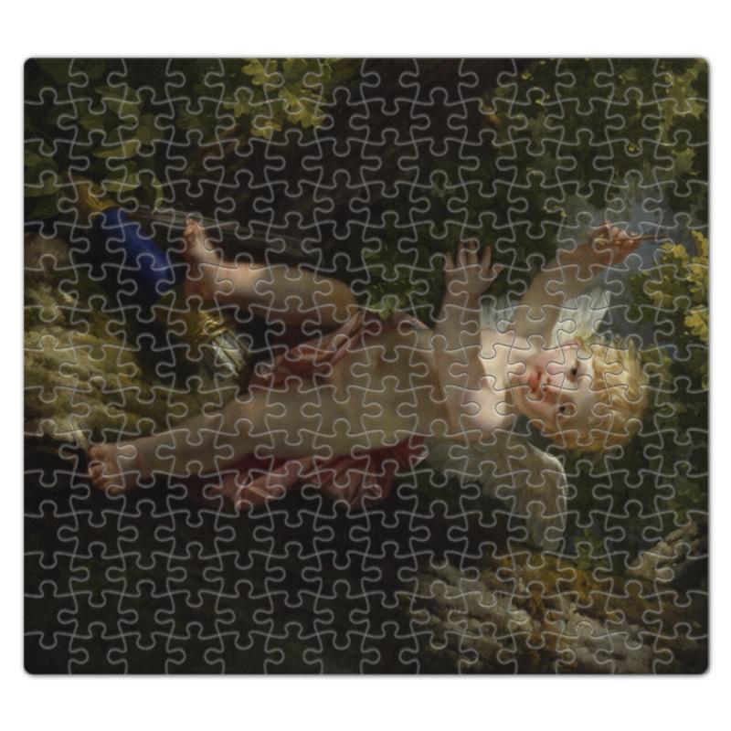 Printio Пазл магнитный 27.4×30.4 см (210 элементов) Купидон на дереве (ле барбье жан-жак-франсуа)