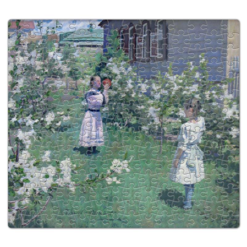 Printio Пазл магнитный 27.4×30.4 см (210 элементов) Maйскиe цветы (виктор борисов-мусатов)