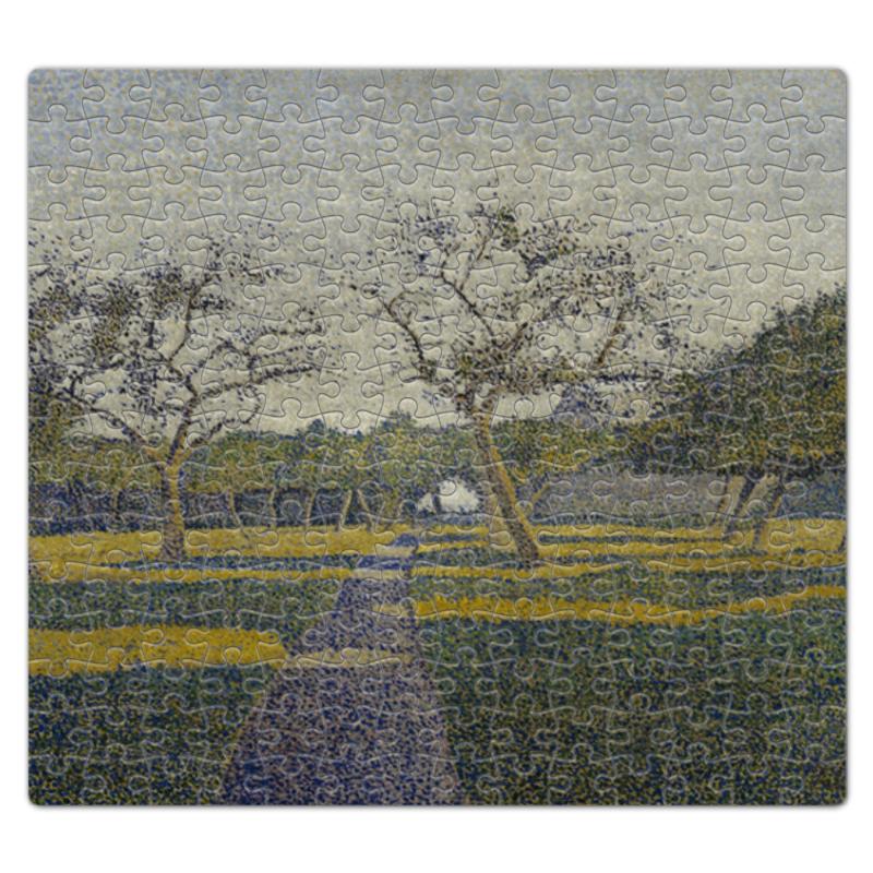 Printio Пазл магнитный 27.4×30.4 см (210 элементов) Фруктовый сад в ла-лувьер (альфред финч) printio тетрадь на скрепке фруктовый сад весной альфред сислей