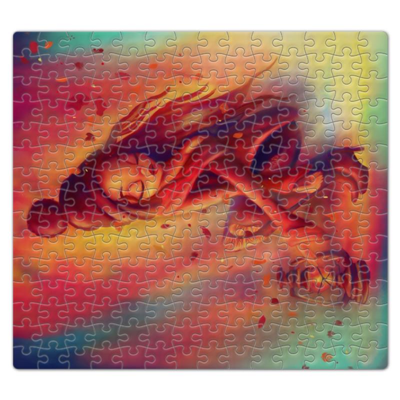 Printio Пазл магнитный 27.4×30.4 см (210 элементов) Осеннее настроение