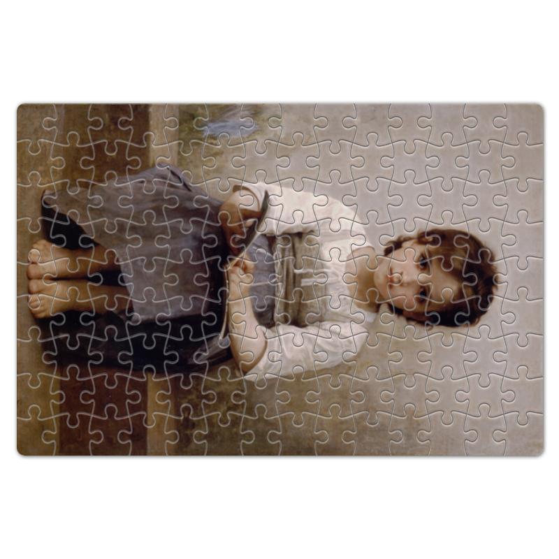 Printio Пазл магнитный 18×27 см (126 элементов) Трудный урок (картина вильяма бугро)