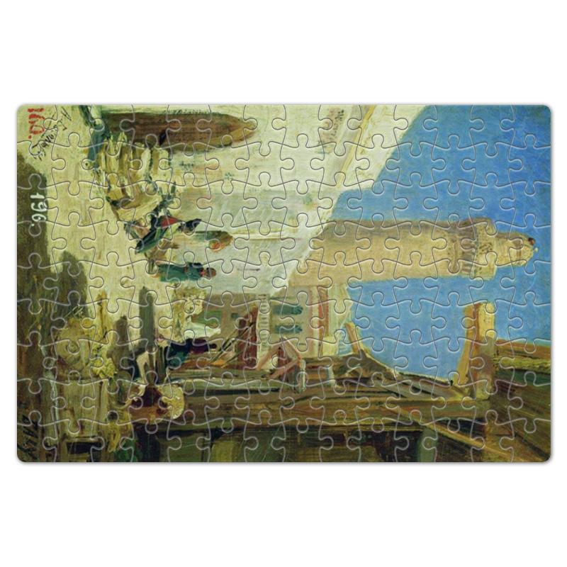 Printio Пазл магнитный 18×27 см (126 элементов) Баку. улица в полдень (алексей боголюбов)