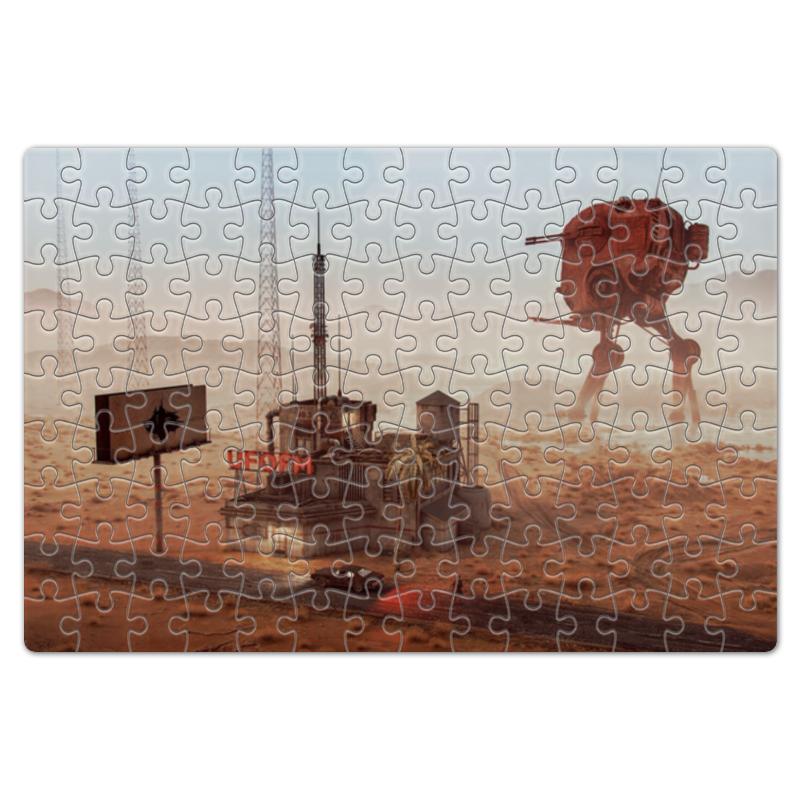 Printio Пазл магнитный 18×27 см (126 элементов) Пустыня