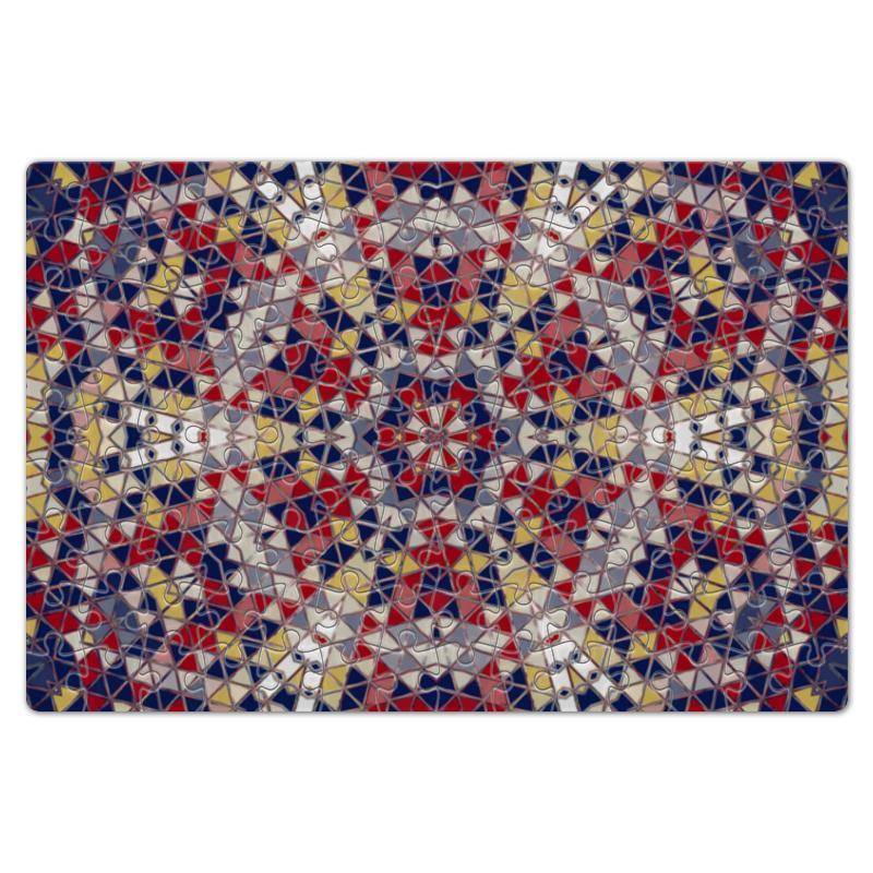 Printio Пазл магнитный 18×27 см (126 элементов) Цветная мозаика