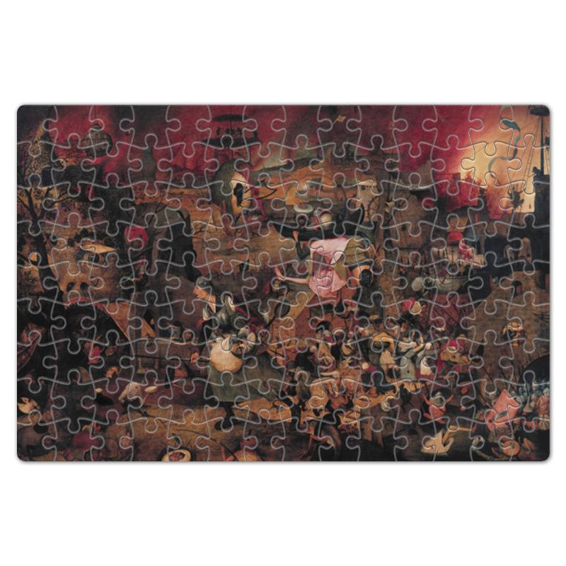 Printio Пазл магнитный 18×27 см (126 элементов) Безумная грета (питер брейгель (старший))