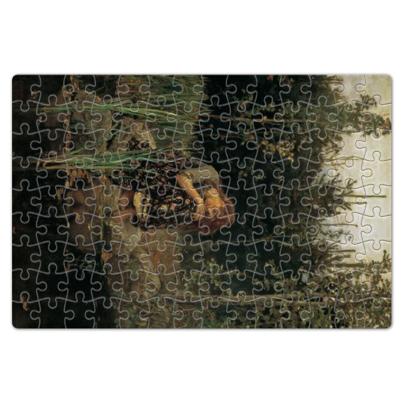 Printio Пазл магнитный 18×27 см (126 элементов) Алёнушка (картина васнецова)