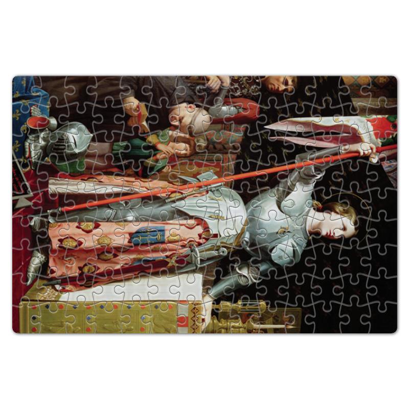 Фото - Printio Пазл магнитный 18×27 см (126 элементов) Жанна д'арк на коронации карла vii (энгр) printio чехол для iphone 5 5s объёмная печать жанна д'арк на коронации карла vii энгр