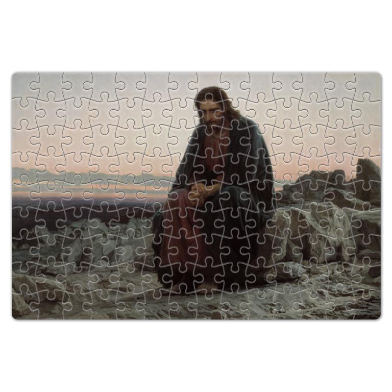 Фото - Printio Пазл магнитный 18×27 см (126 элементов) Христос в пустыне (картина крамского) printio пазл магнитный 18×27 см 126 элементов архангел михаил картина брейгеля