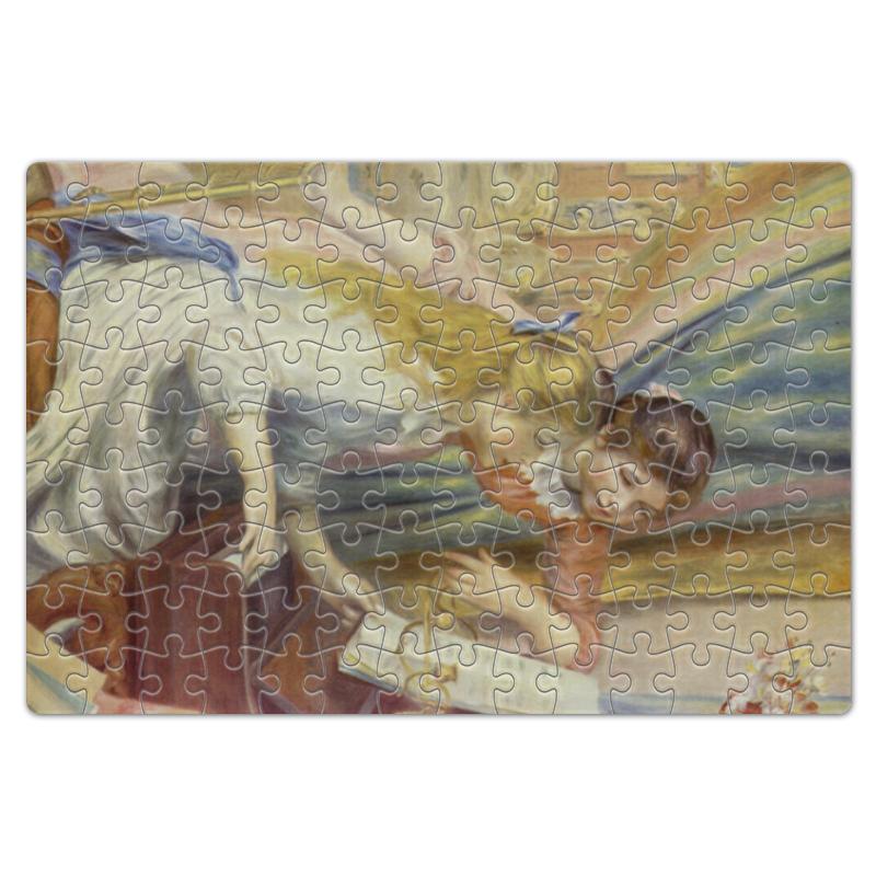 Фото - Printio Пазл магнитный 18×27 см (126 элементов) Девушки за фортепьяно (картина ренуара) printio пазл магнитный 18×27 см 126 элементов искушение святого антония картина босха