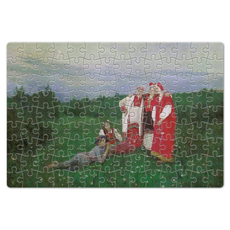 Фото - Printio Пазл магнитный 18×27 см (126 элементов) Северная идиллия (картина коровина) printio пазл магнитный 18×27 см 126 элементов архангел михаил картина брейгеля