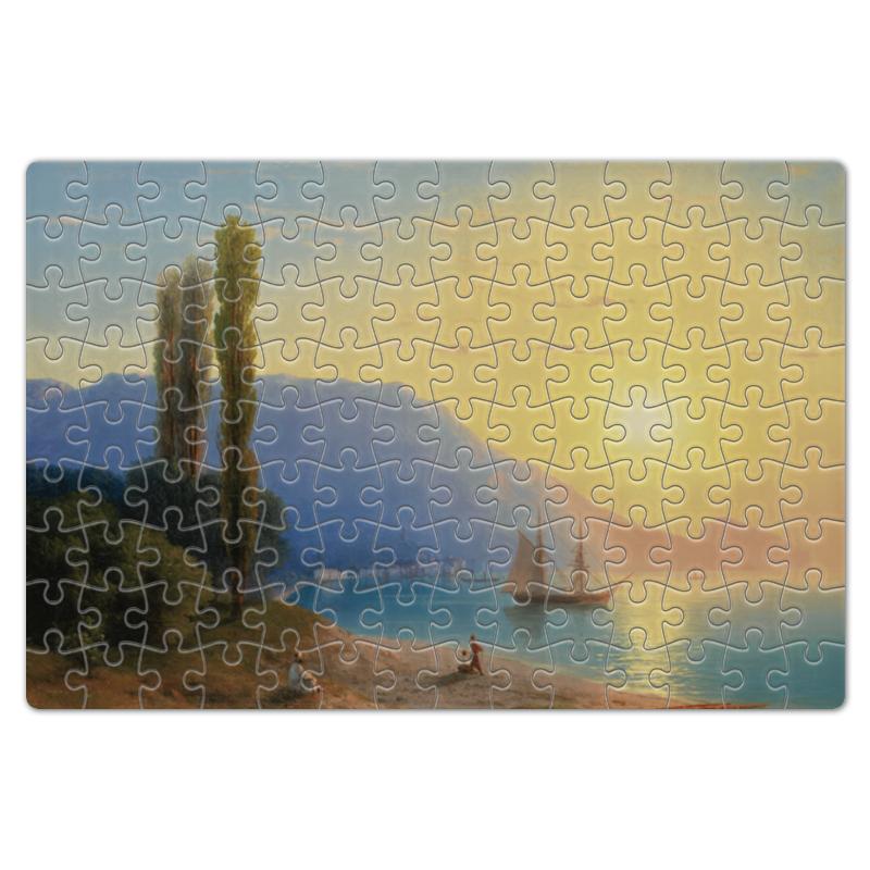 Printio Пазл магнитный 18×27 см (126 элементов) Закат в ялте (картина айвазовского)