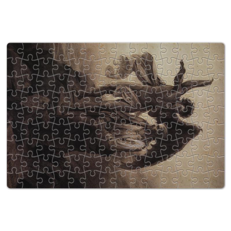 Фото - Printio Пазл магнитный 18×27 см (126 элементов) Искушение христа (василий суриков) printio пазл магнитный 18×27 см 126 элементов искушение святого антония картина босха