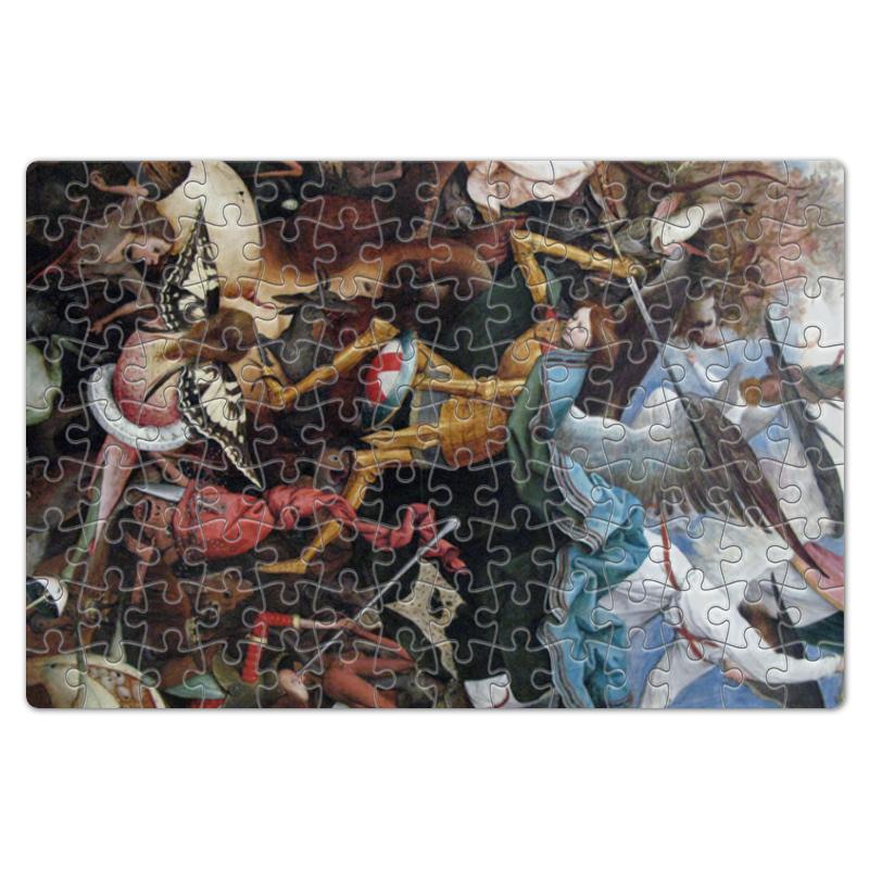 Printio Пазл магнитный 18×27 см (126 элементов) Падение мятежных ангелов (питер брейгель) printio пазл 43 5×31 4 см 408 элементов охотники на снегу питер брейгель старший