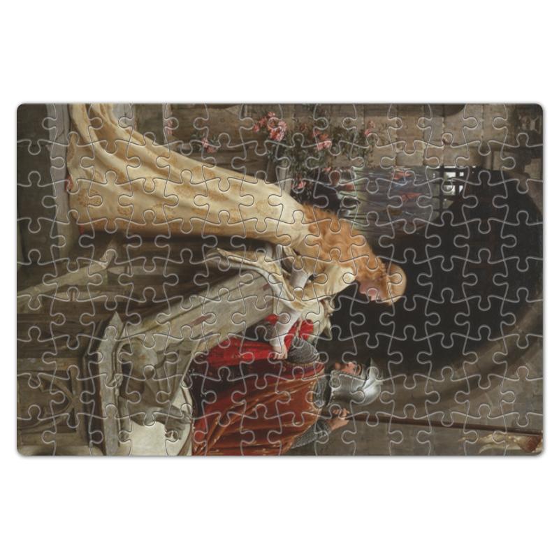 Printio Пазл магнитный 18×27 см (126 элементов) Бог в помощь (эдмунд блэр лейтон)