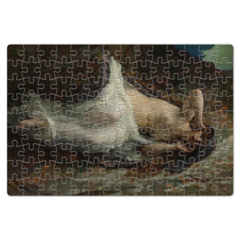 Фото - Printio Пазл магнитный 18×27 см (126 элементов) Эхо (картина кабанеля) printio пазл магнитный 18×27 см 126 элементов архангел михаил картина брейгеля