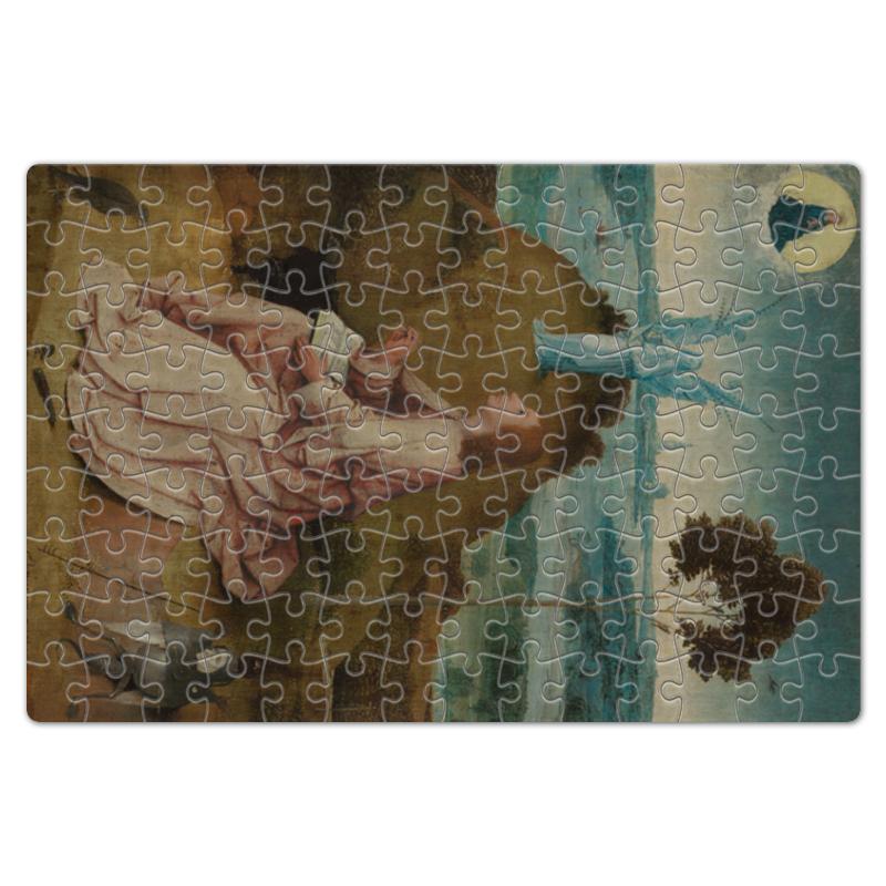Фото - Printio Пазл магнитный 18×27 см (126 элементов) Святой иоанн на патмосе (картина босха) printio пазл магнитный 18×27 см 126 элементов искушение святого антония картина босха