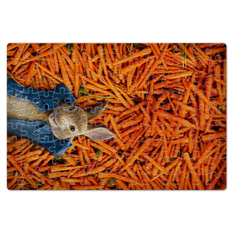 Printio Пазл магнитный 18×27 см (126 элементов) Кролик питер