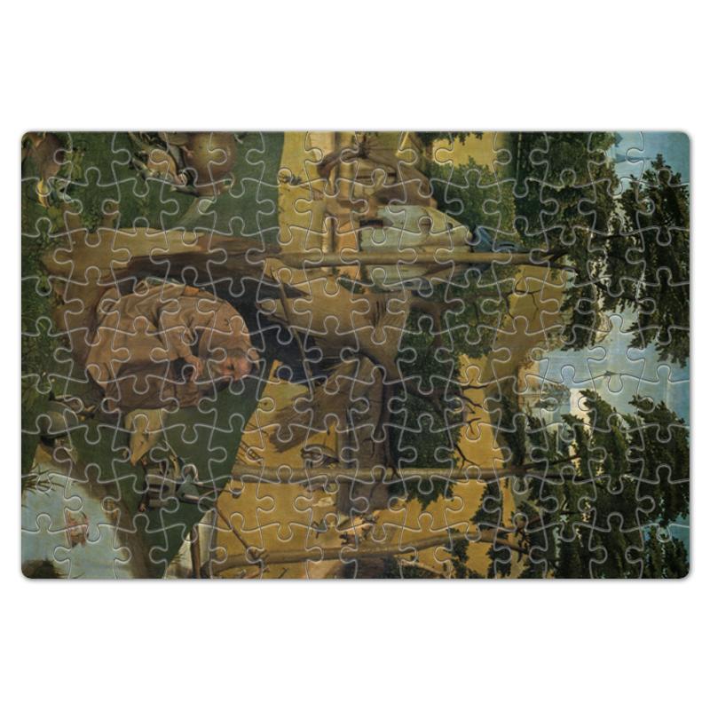 Фото - Printio Пазл магнитный 18×27 см (126 элементов) Искушение святого антония (картина босха) printio пазл магнитный 18×27 см 126 элементов искушение святого антония картина босха