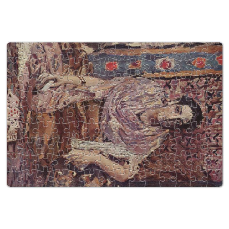 Фото - Printio Пазл магнитный 18×27 см (126 элементов) Гадалка (михаил врубель) printio пазл магнитный 18×27 см 126 элементов архангел михаил картина брейгеля