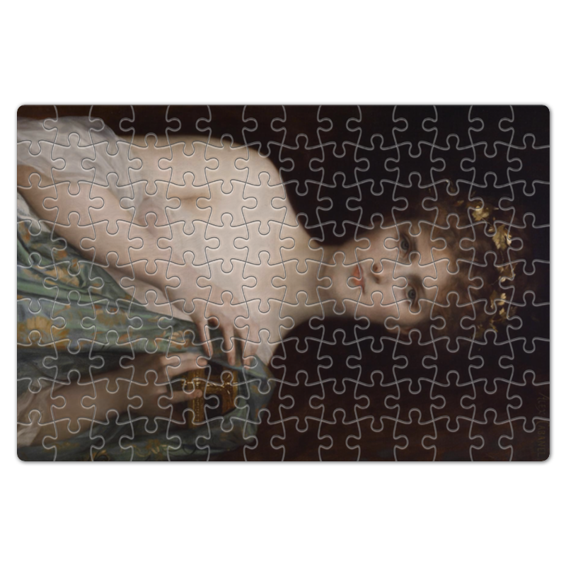 Printio Пазл магнитный 18×27 см (126 элементов) Пандора (картина кабанеля)