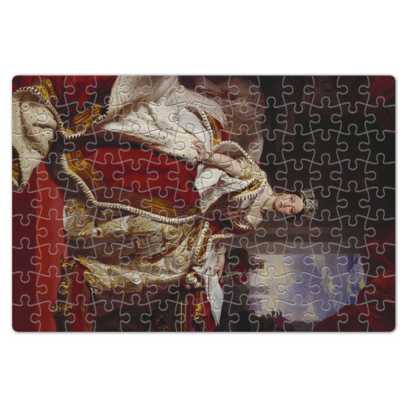 Printio Пазл магнитный 18×27 см (126 элементов) Портрет королевы великобритании виктории