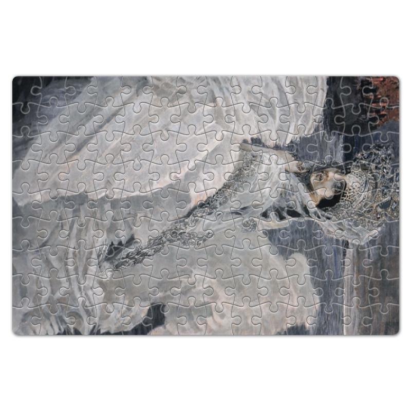 Фото - Printio Пазл магнитный 18×27 см (126 элементов) Царевна-лебедь (картина врубеля) printio пазл магнитный 18×27 см 126 элементов архангел михаил картина брейгеля