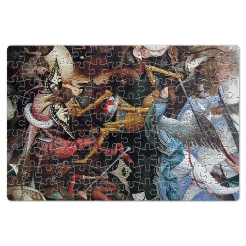 Фото - Printio Пазл магнитный 18×27 см (126 элементов) Архангел михаил (картина брейгеля) printio пазл магнитный 18×27 см 126 элементов архангел михаил картина брейгеля