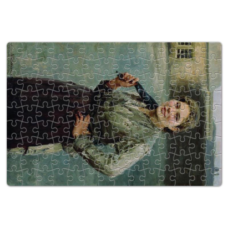 Фото - Printio Пазл магнитный 18×27 см (126 элементов) Шахтёрка (картина касаткина) printio пазл магнитный 18×27 см 126 элементов архангел михаил картина брейгеля