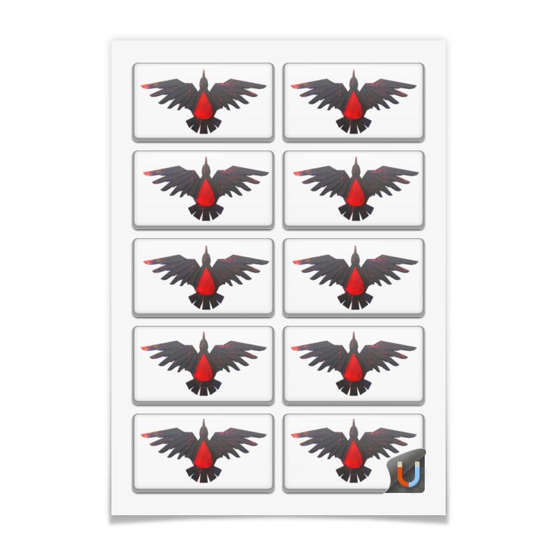 Printio Магниты прямоугольные 9×5 см Blood ravens