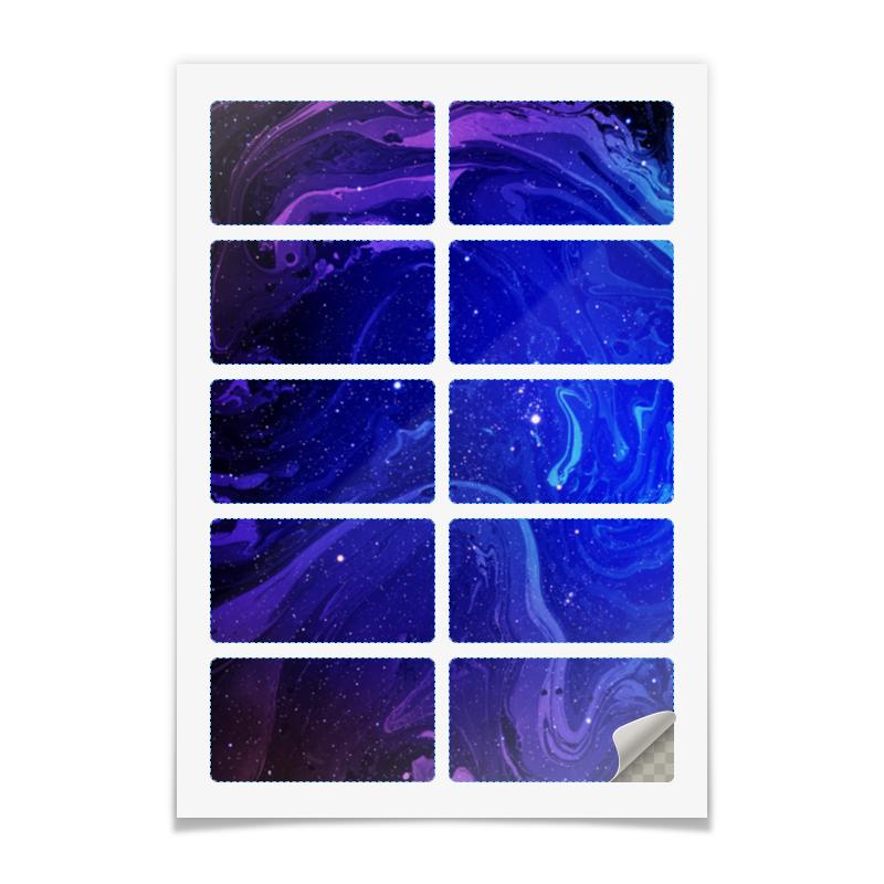 Printio Наклейки прямоугольные 9×5 см Без названия