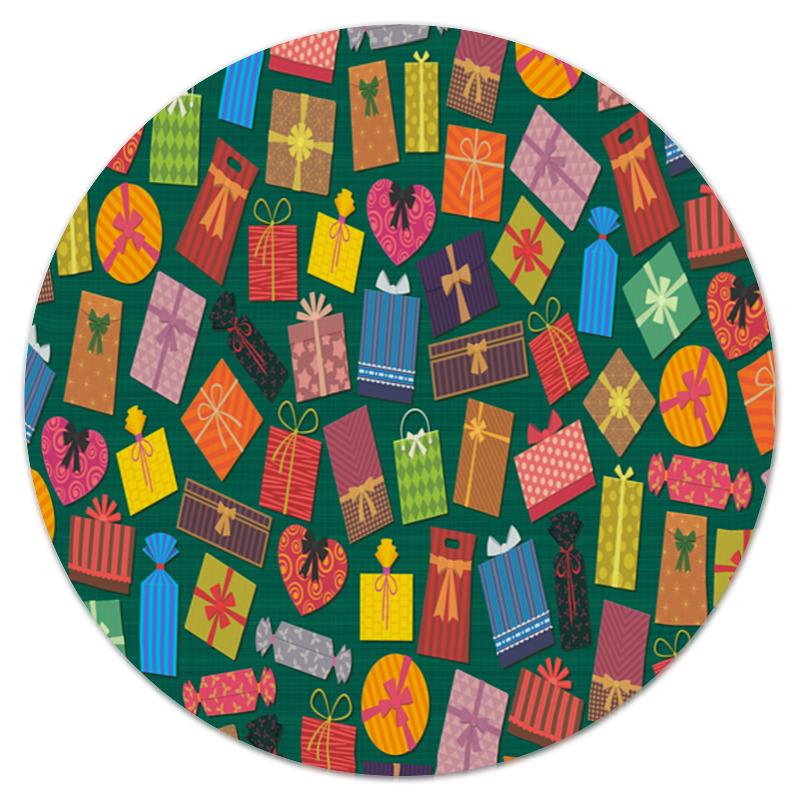 Printio Коврик для мышки (круглый) Подарок
