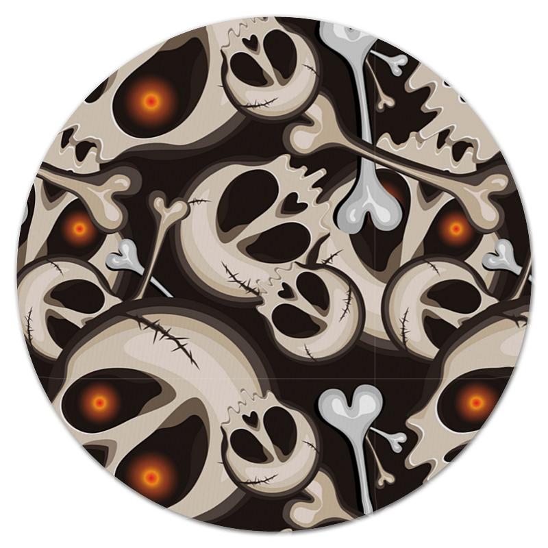 Printio Коврик для мышки (круглый) Черепа и кости printio коврик для мышки круглый черепа