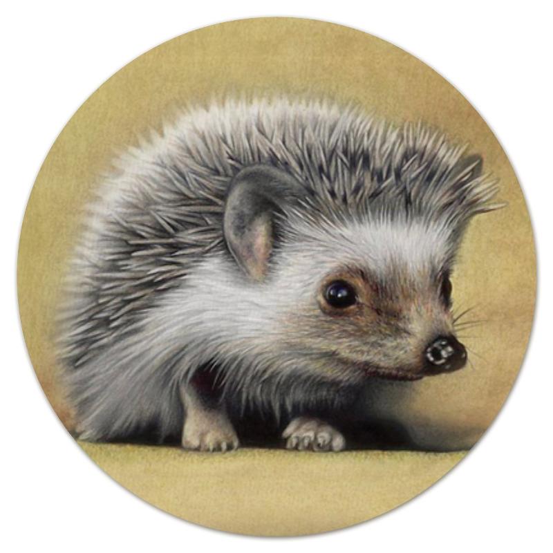 Printio Коврик для мышки (круглый) Лесной ёжик