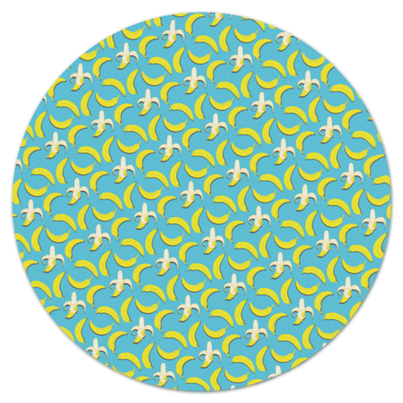 Фото - Printio Коврик для мышки (круглый) Банана! printio коврик для мышки круглый чашки