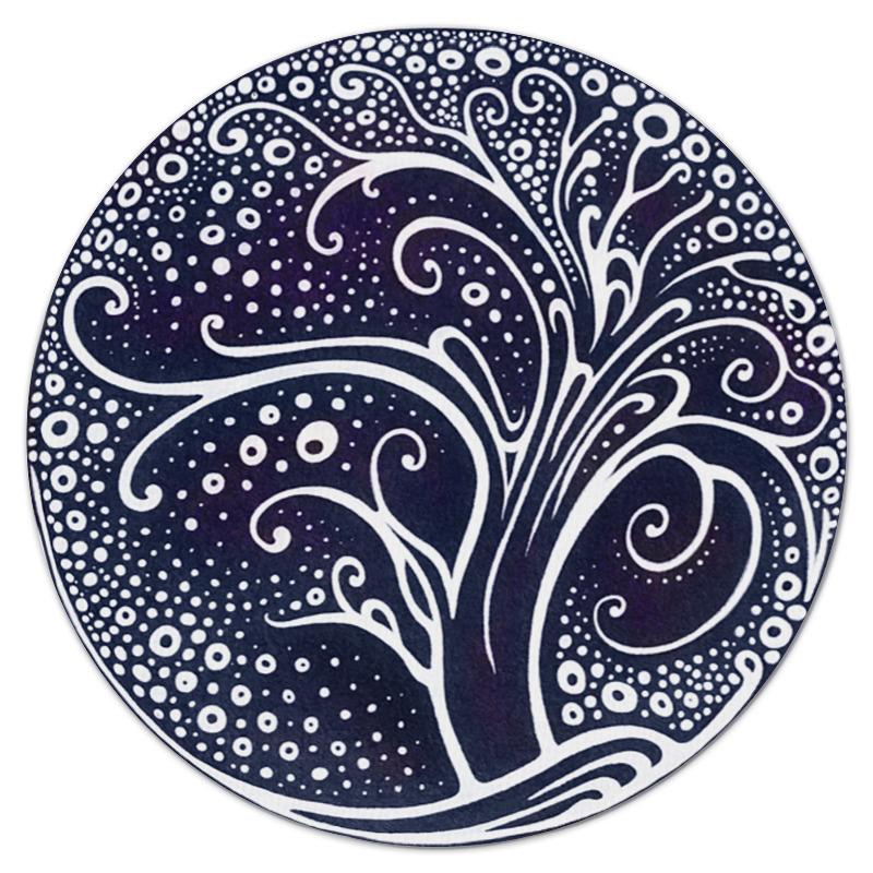 Printio Коврик для мышки (круглый) Сказочное дерево