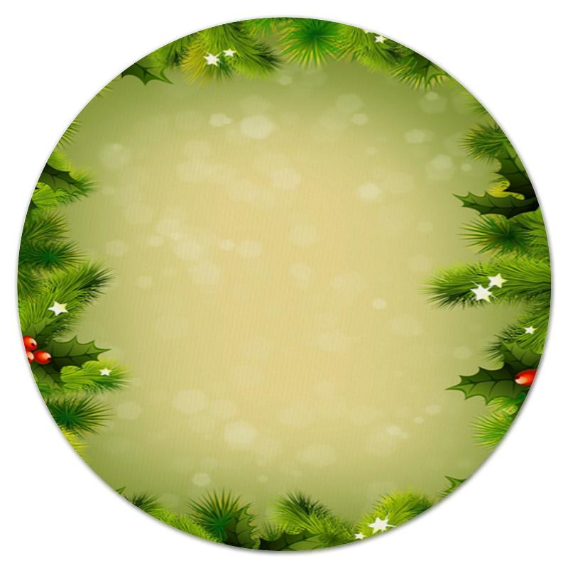 Фото - Printio Коврик для мышки (круглый) Для новогодних подарков printio коврик для мышки круглый чашки