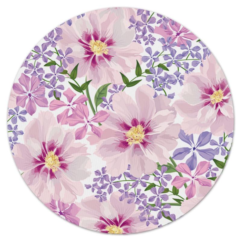 printio коврик для мышки круглый макро цветы Printio Коврик для мышки (круглый) Нежные цветы