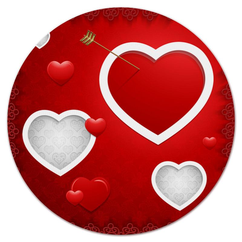 Printio Коврик для мышки (круглый) Сердце printio коврик для мышки круглый нет подключения к интернету