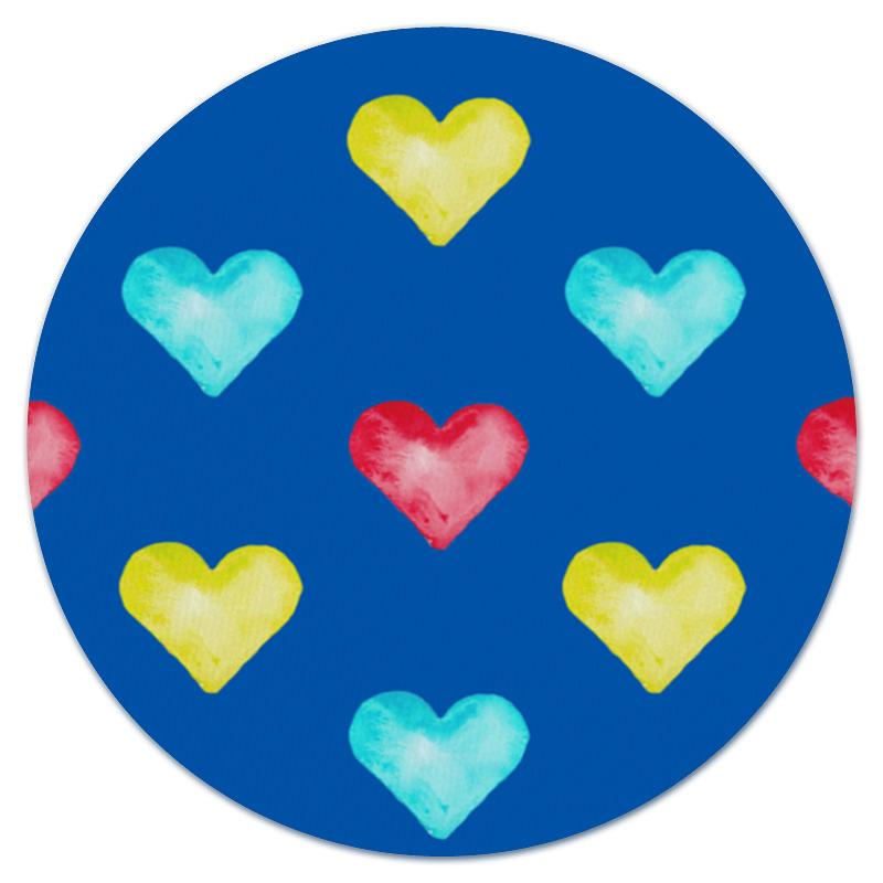Printio Коврик для мышки (круглый) Сердце printio коврик для мышки круглый сердце