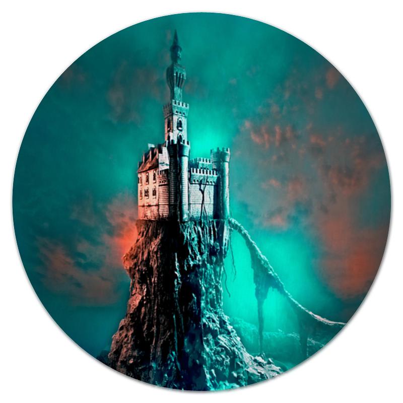 Фото - Printio Коврик для мышки (круглый) Замок printio коврик для мышки замок