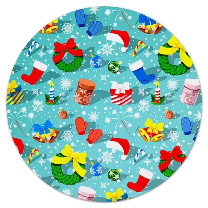 Printio Коврик для мышки (круглый) Подарки