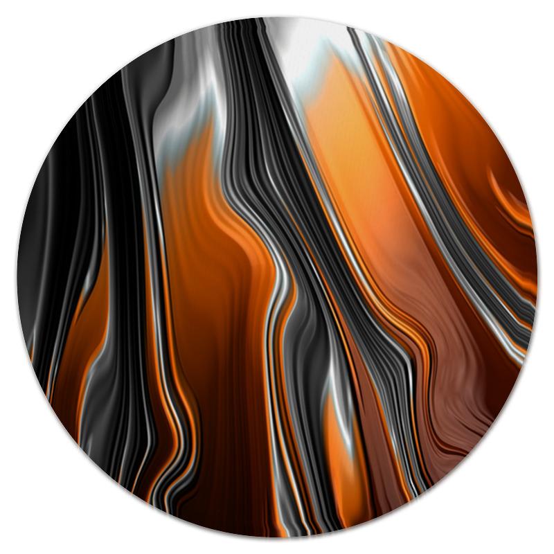 printio полосы красок Printio Коврик для мышки (круглый) Полосы красок