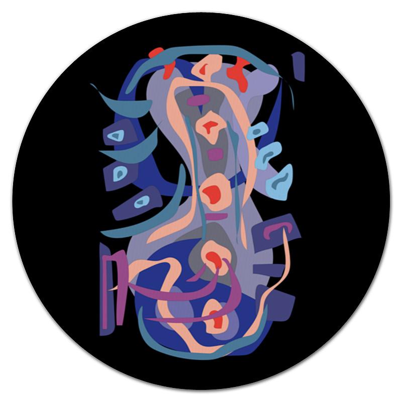 Printio Коврик для мышки (круглый) С абстрактным рисунком printio сумка с абстрактным рисунком